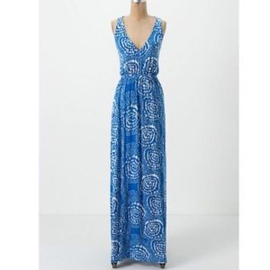 ANTHROPOLOGIE Addison Story Sky Trails Maxi SP/S